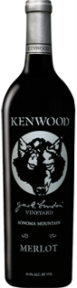Kenwood Merlot Jack London Vineyard 2012 750ml